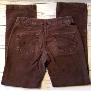 COLUMBIA brown CORDUROY PANTS